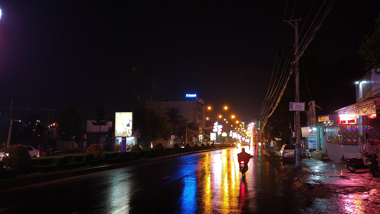 Pleiku at night