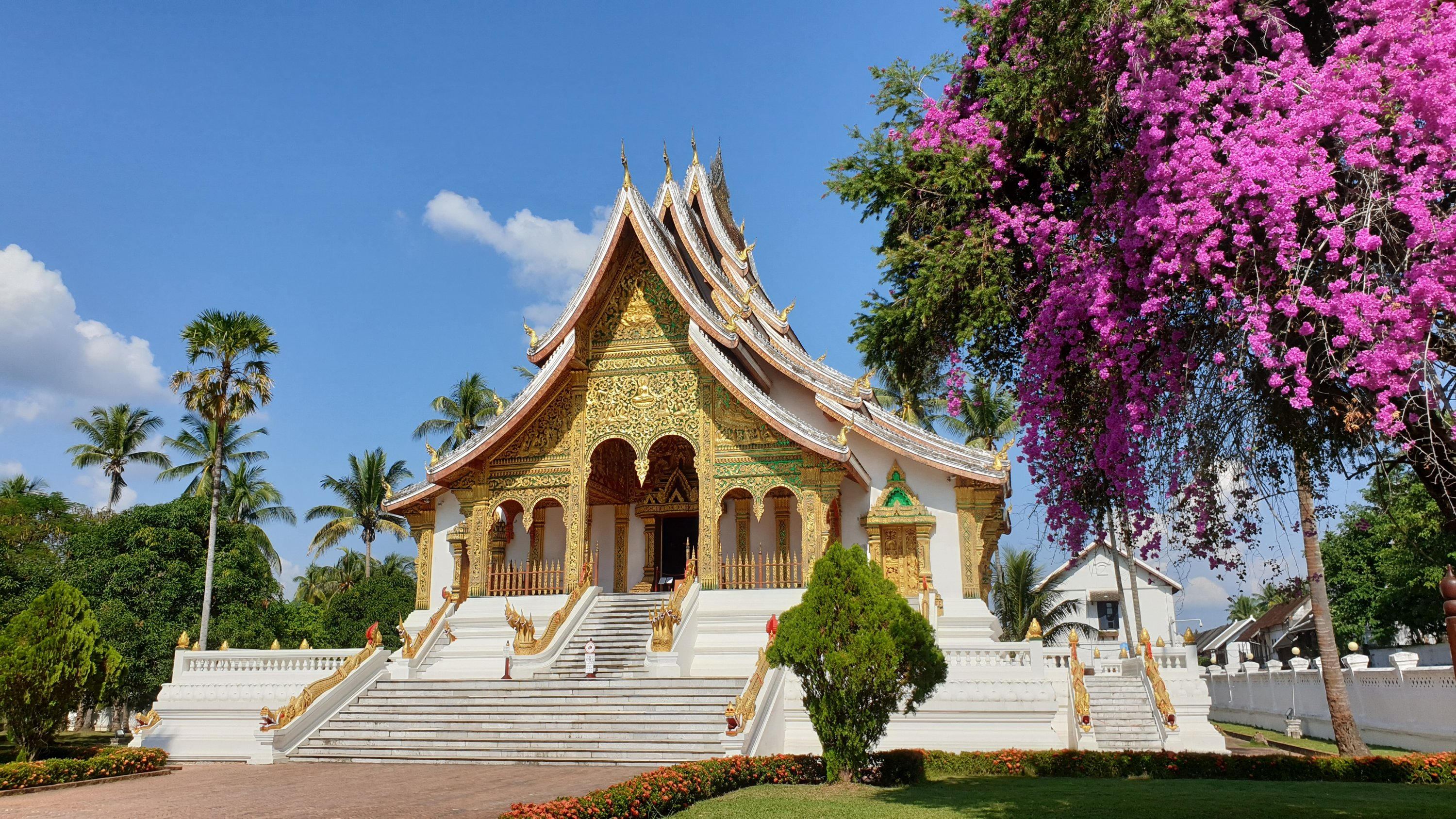 Temple at the Royal Palace, Luang Prabang, Laos